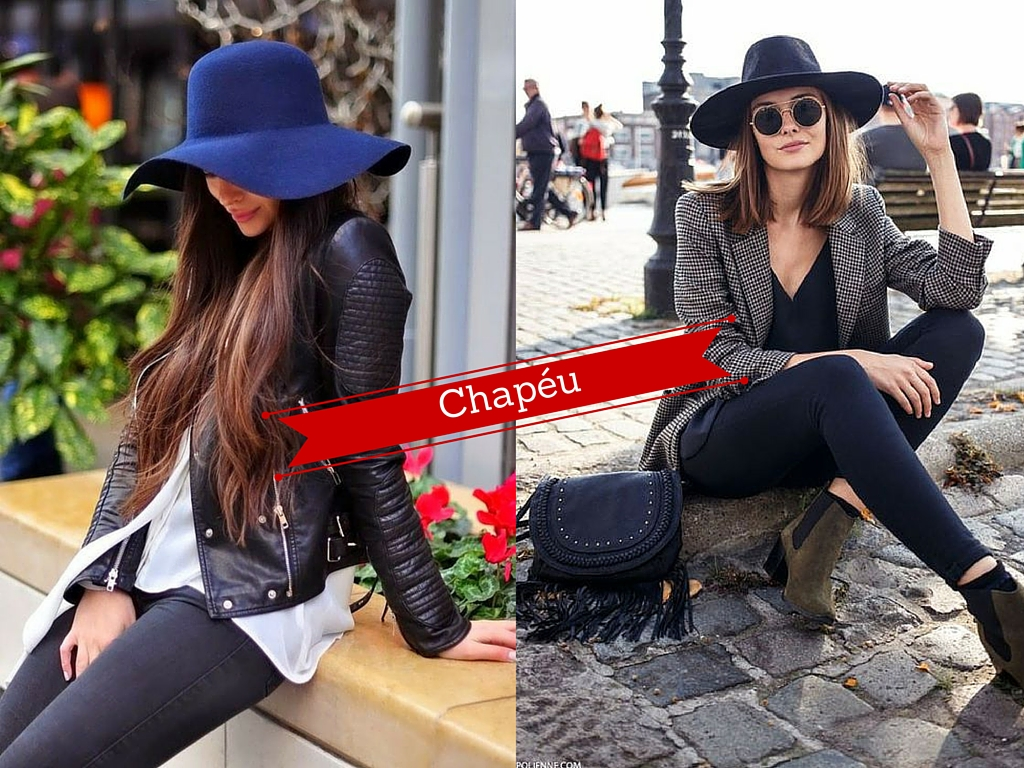 Como usar: Chapéu