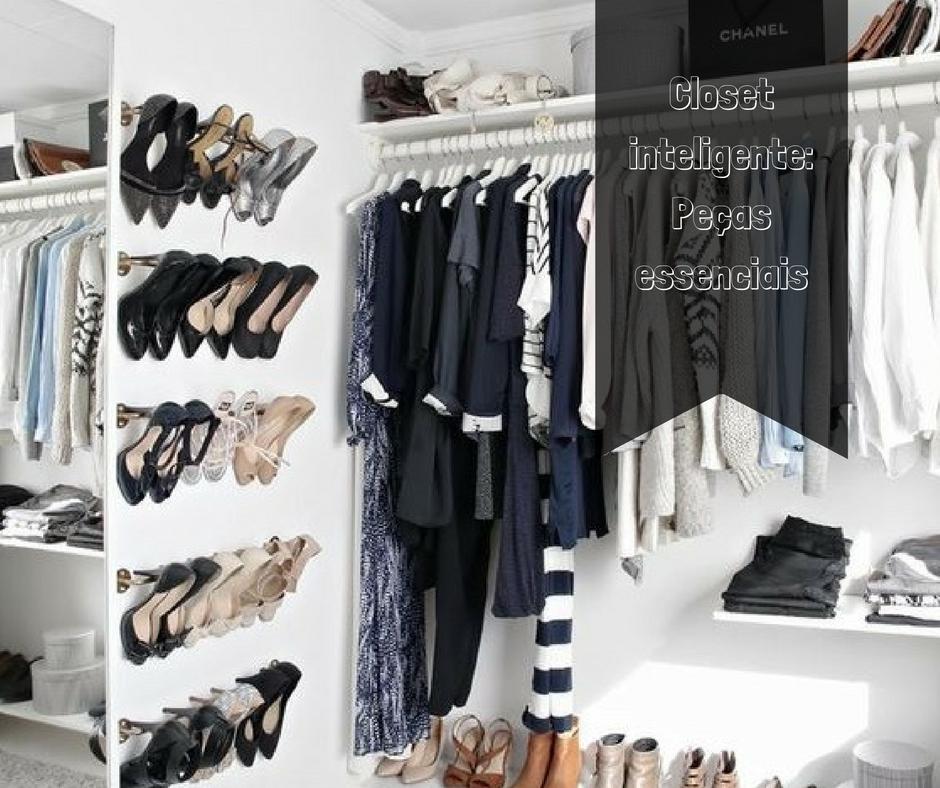 Closet inteligente: Peças essenciais