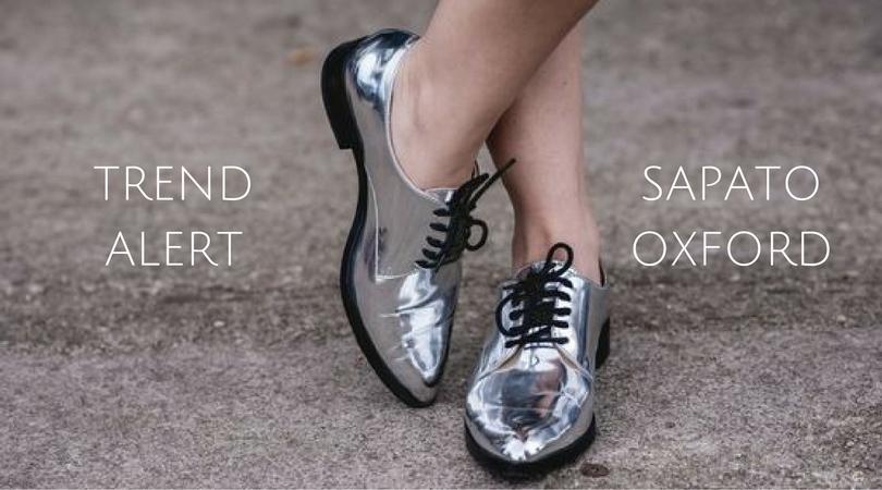 Trend alert: Sapato oxford
