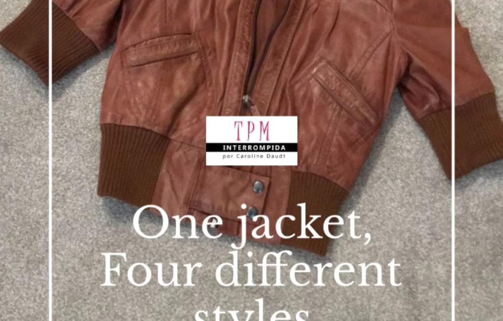 IGTV da semana: Uma jaqueta, quatro estilos diferentes